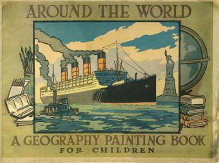 Around the World ... A Geography Painting Book for Children. WWI, Gallipoli
