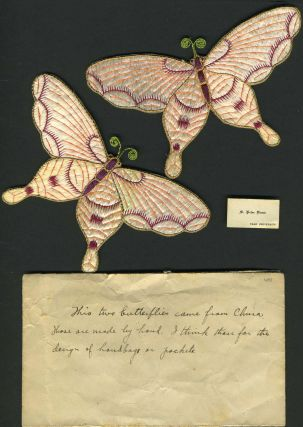 Chinese silk butterflies. China, Yale