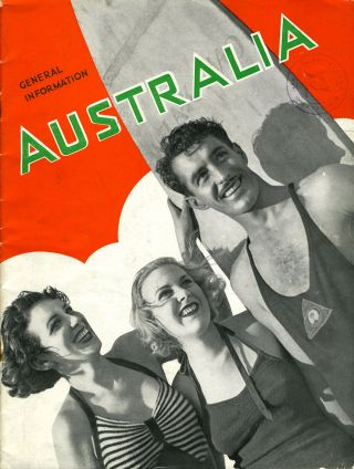 General Information Australia. Brochure. Australia National Travel Association