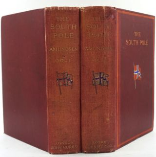 "The South Pole. An Account of the Norwegian Antarctic Expedition in the ""Fram,"" 1910-1912. Roald Amundsen."