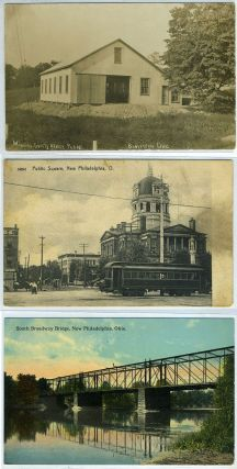 Collection of 10 post cards, New Philadelphia, Ohio.