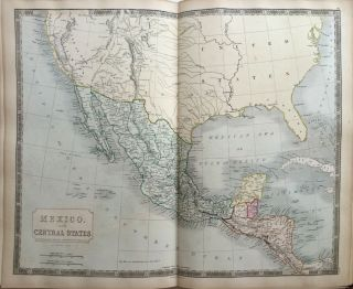 A New General Atlas, with the Divisions and Boundaries Carefully Coloured; Constructed Entirely from New Drawings.