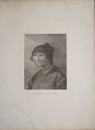 A Woman of Oonalashka. John Webber, James Cook