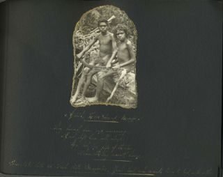 """Australia and New Guinea Photograph Albums by """"The Vagabond"""""""