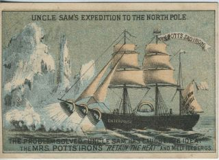 Uncle Sam's Expedition to the North Pole