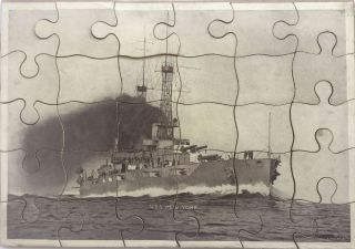 Our Battleships Puzzle Box - Three Pictures to a Set.