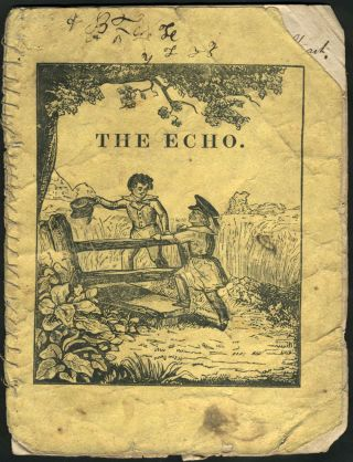 The Echo: A Story About William and Dick. Children's, Chapbook, Dutchess County NY, Florida Association.