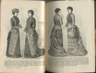 Lord & Taylor Catalogue, 1882 Spring and Summer, with 4 original order forms.
