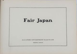 Fair Japan. Album of silver print photographs of pre WWI Japan.