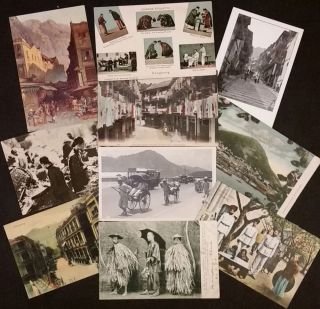 185 Postcards of the Chinese in Mainland China, Hong Kong & Macau.
