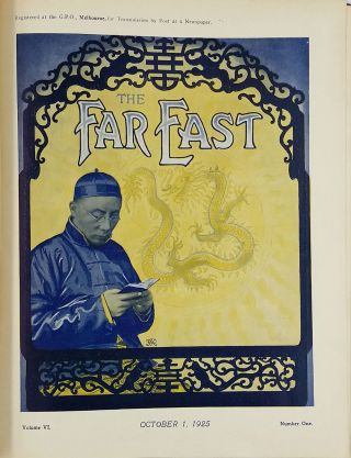 The Far East, A Periodical Devoted to the Conversion of China. Vol 6. Oct 1925 - Sept 1926.