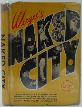 Naked City. Signed. Weegee