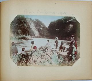 Photograph Album of images of Japan. Photography, Japan