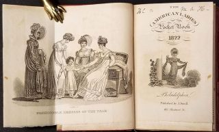 The American Ladies Pocket Book [for] 1822. A. Small