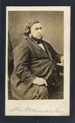 The Tichborne Claimant carte de visite. Photograph