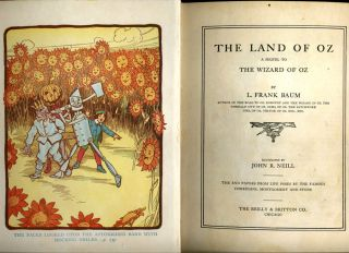 The Land of Oz, A Sequel to the Wizard of Oz.