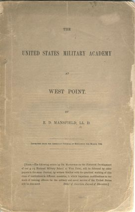 The United States Military Academy at West Point. E. D. LL D. Mansfield