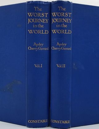 The Worst Journey in the World. Antarctic 1910-1913. Apsley Cherry Garrard, Edward A. Wilson.