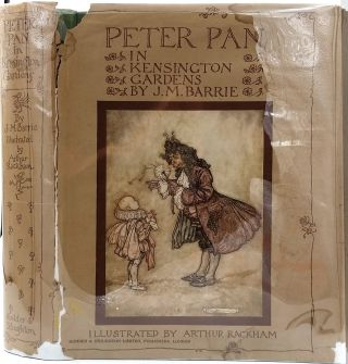 Peter Pan in Kensington Gardens.