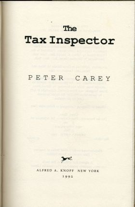 The Tax Inspector.