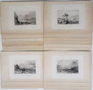"A collection of Artist's Proof Plates of images from ""American Scenery"" W. H. Bartlett, William..."