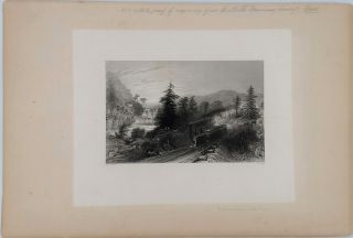 "A collection of Artist's Proof Plates of images from ""American Scenery"""