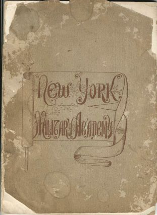 First Catalog of the high school of Donald J. Trump, the New York Military Academy. New York...