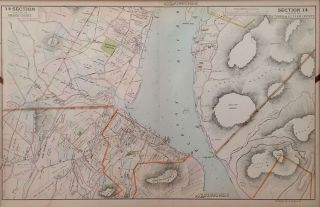 Portion of Putnam County & Dutchess County (Cornwall, New Windsor, Fishkill Bay, Bannerman's...