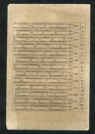 Group of 8 Cigarette Advertising Cards for the Chinese Market.
