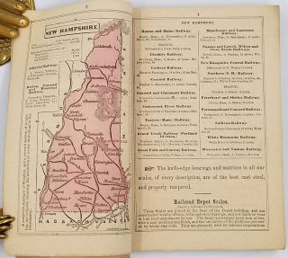 Fairbanks' Pocket Atlas of the United States and Miniature Railway Guide, with Illustrations ...