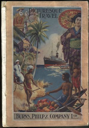 """Picturesque Travel"". Travel Guide, Thursday Island, Queensland to New Guinea. Philp Burns, Company."