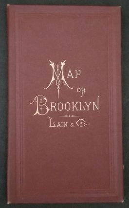 New Map of Brooklyn and Vicinity. NY Brooklyn, Lain, Co, Gaylord Watson