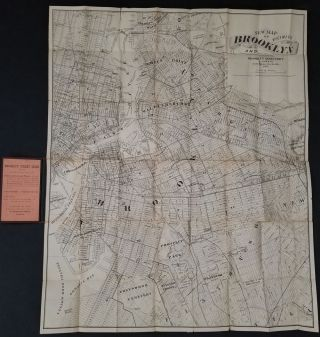 New Map of Brooklyn and Vicinity.
