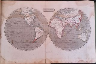 A New and Elegant General Atlas, comprising all the new discoveries, to the present time; containing Sixty-Five Maps, drawn by Arrowsmith and Lewis.