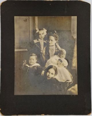 Photograph and letter archive of the Selfridge Family nanny. Harry and Rose Selfridge