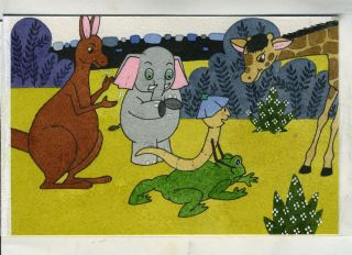 Original art work, children's Kangaroo story book. Children's, Art