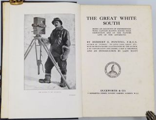 The Great White South Or with Scott in the Antarctic...