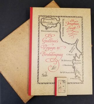 A Voyage to Brobdingnag Made By Lemuel Gulliver in the Year MDCII (and) A Voyage to Lilliput By...