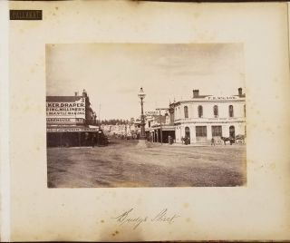 Melbourne, New South Wales and Ballarat, Australian photographs. Album.