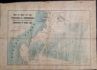 Map of Part of the Village of Peekskill exhibiting land belonging to Frederick W. Requa Esq....