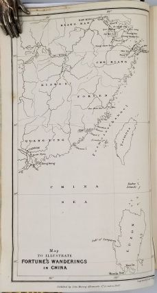Three Years' Wanderings in the Northern Provinces of China, including a visit to the tea, silk, and cotton countries; with an account of the agriculture and horticulture of the Chinese, new plants, etc.