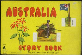 Australia Story Book. The Pictures Can Be Cut Out
