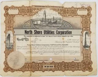 North Shore Utilities Corporation - Minutes by-Laws and Charter.