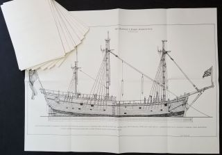 H.M. Bark Endeavour. Her Place in Australian History, With an Account of Her Construction, Crew and Equipment and a Narrative of Her Voyage on the East Coast of New Holland in the Year 1770.
