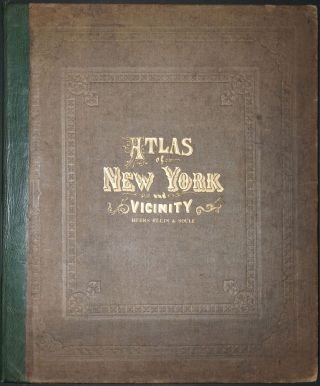 Atlas of New York and Vicinity. F. W. Beers