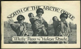 North of the Arctic Circle: White Pass and Yukon Route. Arctic, Alaska