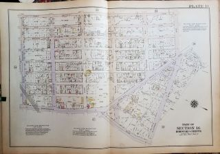 Atlas of New York City, Borough of the Bronx Annexed District [ Volume 3, Sections 14, 15, 16, 17 & 18].