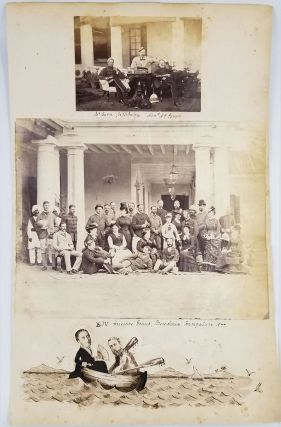 14th Hussars in India. Albumen photographs. Photographs, India