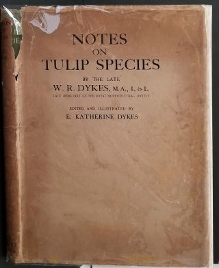 Notes on Tulip Species.