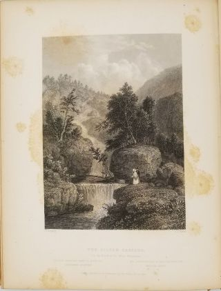American Scenery; or, Land, Lake, and River Illustrations of Transatlantic Nature. From Drawings by W. H. Bartlett.